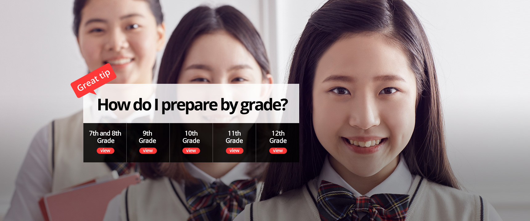 How to prepare by grade